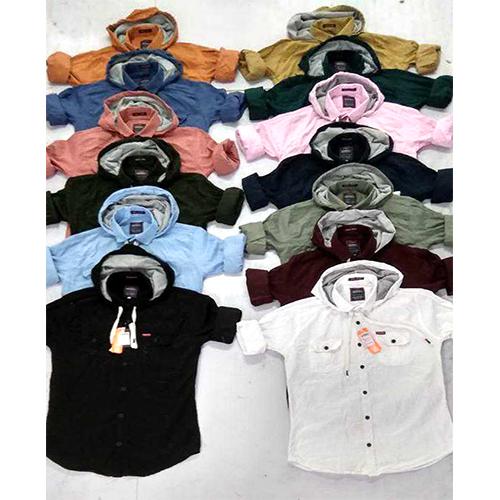 Mens Casual Plain Shirt