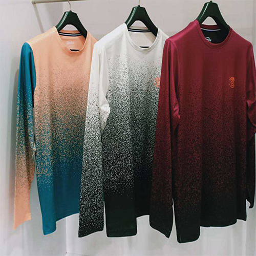 Mens Sparkled Printed T-Shirt