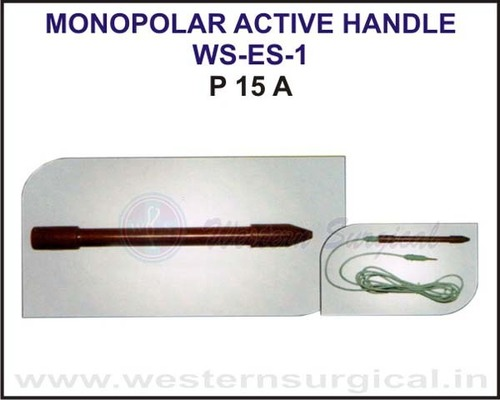 Monopolar Active Handle