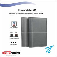 Portronics Power Wallet 4K Black