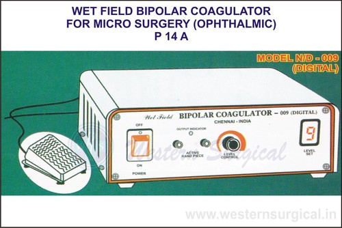Bipolar coagulator for Micro Surgery (OPHTHALMIC)