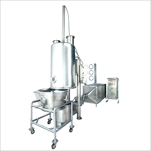 Stainless Steel Fluid Bed Dryer