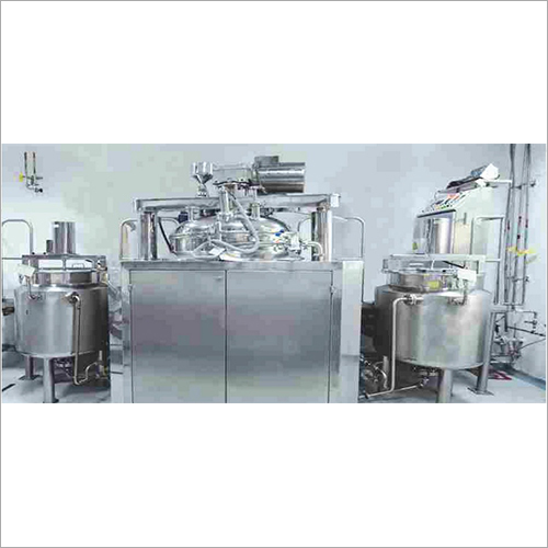 Stainless Steel Ointment And Cream Plant