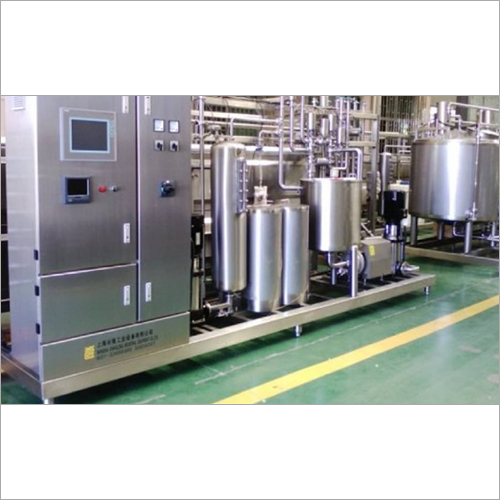 Automatic Steam Operated Milk Pasteurizer Plant