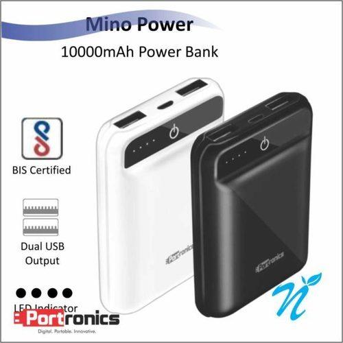Portronics Mino Power AcA A  Black