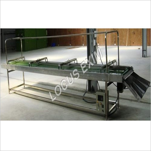 SS Cashew Inspection Conveyor