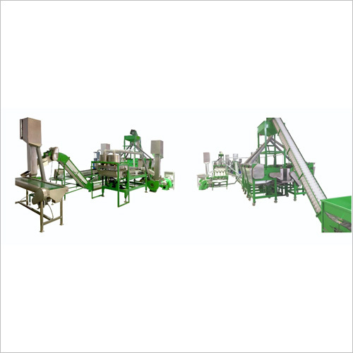 Raw Cashew Shelling And Separating System