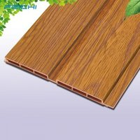 Chinese Linyi Iceiling cladding For Indoor Place WPC wall panel 150 mm