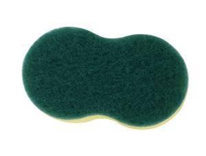 8 Shape Sponge Scouring Pad