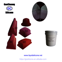 Rtv2 Liquid Silicone Rubber  For Printing Pad Casting