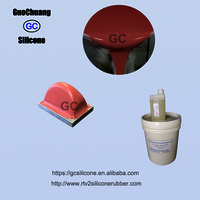 Platinum Cure Silicone Rubber For Printing Pad Making
