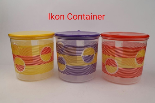 Plastic Ikon Container