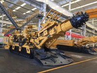 EBZ200T Water Exploration Drilling rig mounted on the roader header driller miner