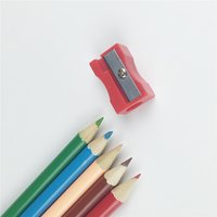 Plastic Octagonal Pencil Sharpener, Assorted Colors