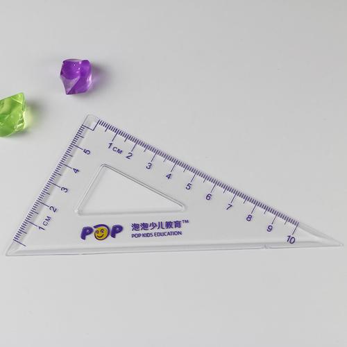 10cm Metric Triangle Ruler