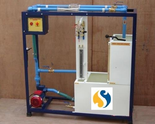 VENTURIMETER & ORIFICEMETER Calibration Set Up