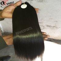 Natural Premium Straight Weave Human Hair Extension