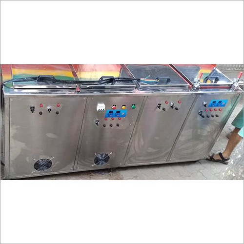 Four Stage Ultrasonic Rinsing And Hot Air Blower Machine