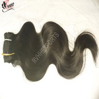 Wholesale 100 Percent Unprocessed Raw Indian Temple Human Hair