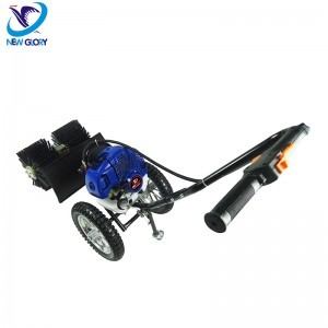 gasoline 52cc snow sweeper/snowplow