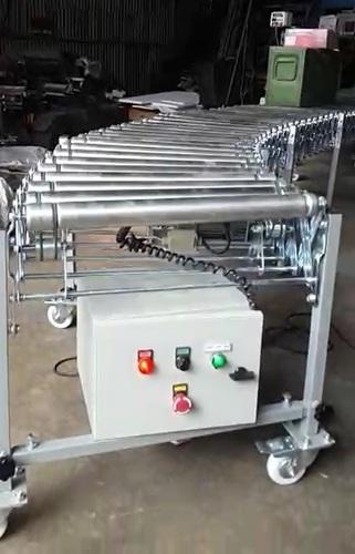 Powerised Roller Conveyor Load Capacity: 50 - 500 Kg/Meter  Kilograms (Kg)