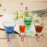Shot Glass Drink Holder Color Drinking Glass
