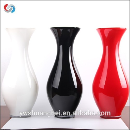 Promotion Handblown High quality Colored Glass Vases For Decoration