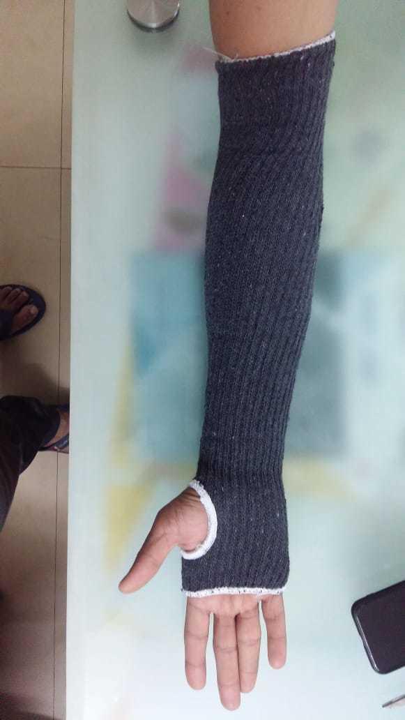 Thumb Cut Hand Sleeves