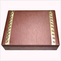Leather Decorative Box