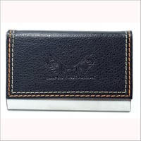 Plain Leather Card Case