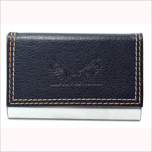 Plain Leather Card Case