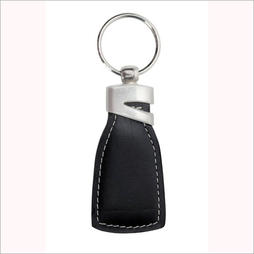 Designer Leather Key Ring