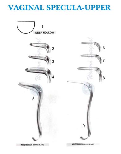 Vaginal specula-Upper