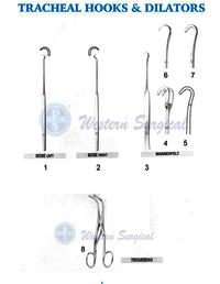 Tracheal Hooks & Dilators