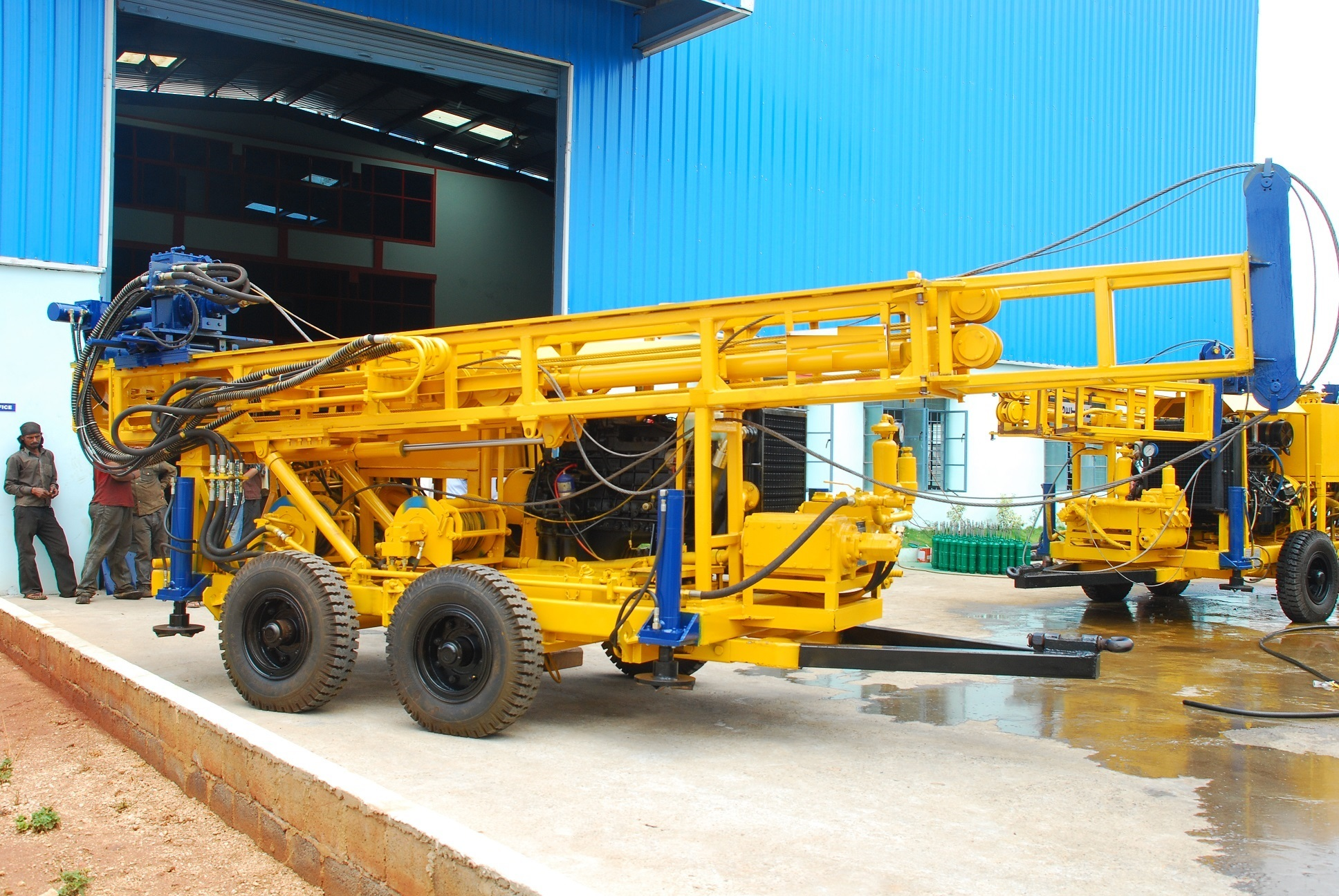 Trolley Mounted Geotechnical Drilling Rig (PCDR-100)