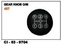 Gear  Knob O/M  Tata 407