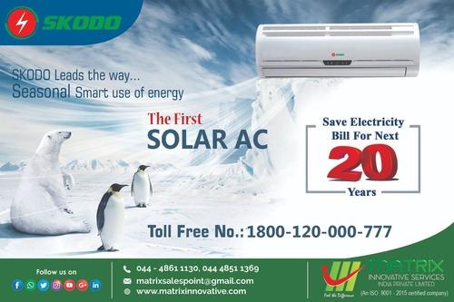 Solar AirConditioner 2 Ton