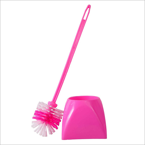 2 Side Toilet Cleaner Brush With Bucket
