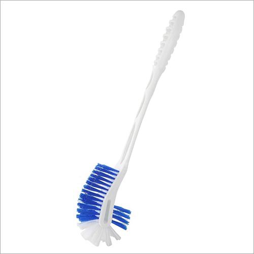 2 Side White Toilet Cleaner Brush