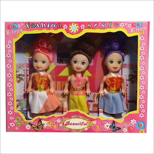 Mini Barbie Doll Set