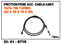 Friction Free Cable  Tata Turbo 709