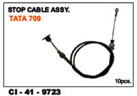 Stop Cable Assy Tata 709