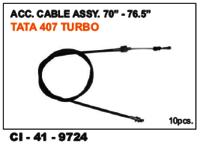 Acc Cable Assy  70 Inc-76.5 Inc Tata 407 Turbo