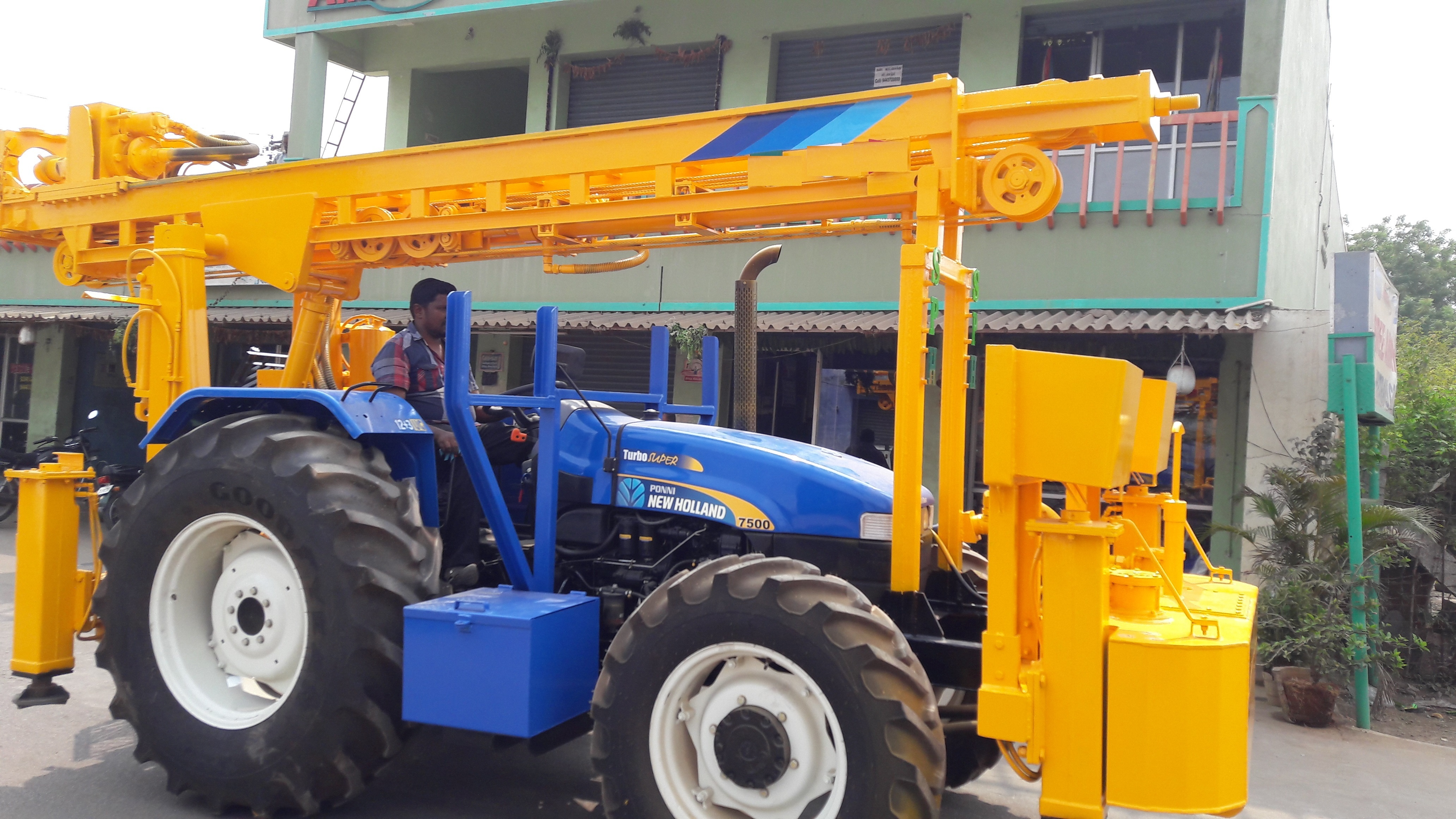 150 Meter Tractor Soil Investigation Drilling Rig