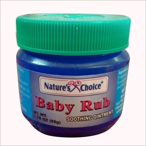 50 gm Baby Rub Soothing Ointment