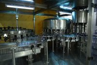 40 Bottle Per Min Packaged Drinking Water Plant