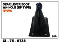 Gear Lever Boot W/4 Hole Zip Type Hywa Tata