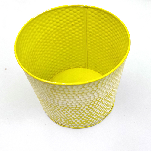 Coated Steel Round Planter