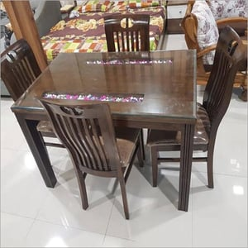 Wooden Dinner Table Set