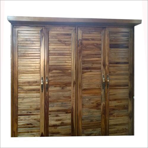 4 Door Wooden Wardrobe
